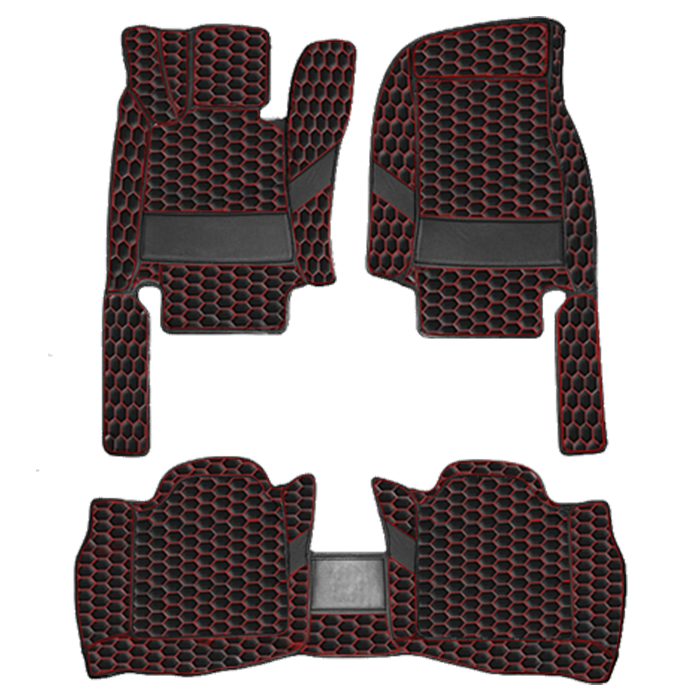 Black & Red (Honeycomb)